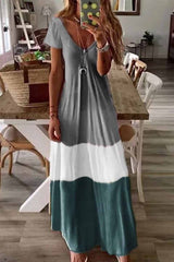 Florcoo V Neck Length Dress