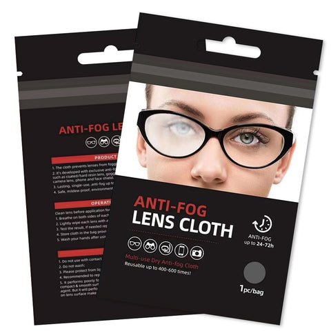 Anti-Fog Cloth - Package of 2