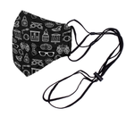 EzWare™ Mask w/ Built in Neck Strap