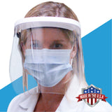 ClearShield Deluxe Optical Quality Face Shield