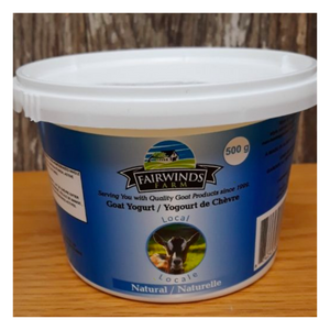 Plain Goat Yogurt - 500ml - Fresh Village Farms