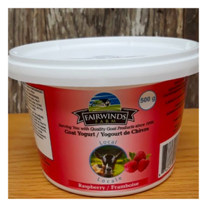 Load image into Gallery viewer, Raspberry Goat Yogurt | Approx 500 grams - Fresh Village Farms