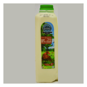 Organic 10% Cream | Organic Jersey 10% Cream - 1 L - Fresh Village Farms