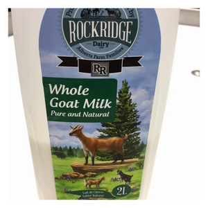 Load image into Gallery viewer, Organic Whole Goat Milk | 2 L Goat Milk - Fresh Village Farms