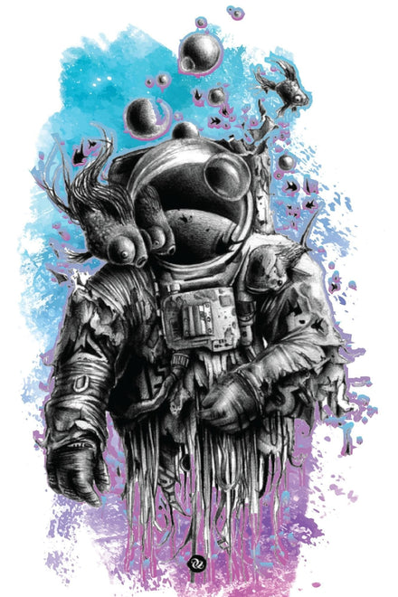 Space Man Poster