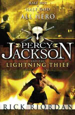 Percy Jackson and the Lightning Thief (Percy Jackson and the Olympians, #1)- 99bookscart-secondhand-bookstore-near-me