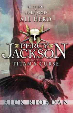 The Titan's Curse (Percy Jackson and the Olympians, #3) by Rick Riordan- 99bookscart-secondhand-bookstore-near-me