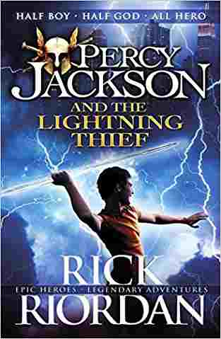 Percy Jackson and the Lightning Thief (Percy Jackson, #1)- 99bookscart-secondhand-bookstore-near-me