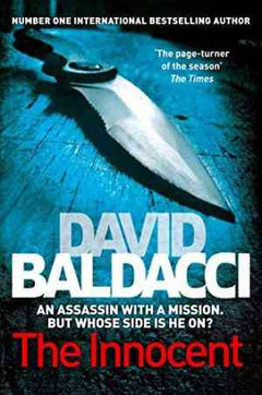 The Innocent (Will Robie, #1) by David Baldacci,- 99bookscart-secondhand-bookstore-near-me