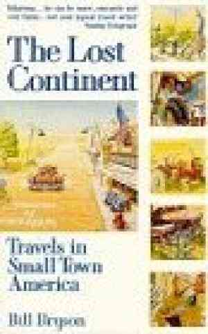 The Lost Continent: Travels in Small Town America- 99bookscart-secondhand-bookstore-near-me