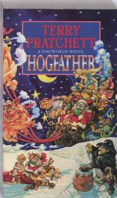 Hogfather (Discworld, #20)- 99bookscart-secondhand-bookstore-near-me