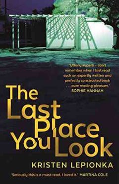 The Last Place You Look (Roxane Weary, #1)- 99bookscart-secondhand-bookstore-near-me