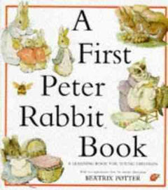 A First Peter Rabbit Book- 99bookscart-secondhand-bookstore-near-me