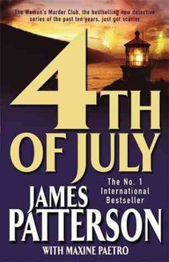 4th of July (Women's Murder Club, #4)- 99bookscart-secondhand-bookstore-near-me