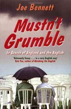 Mustn't Grumble: In Search of England and the English- 99bookscart-secondhand-bookstore-near-me