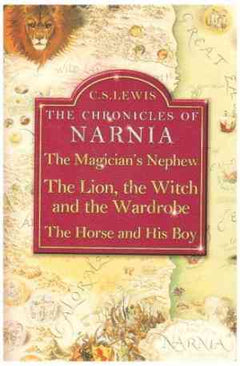 The Chronicles of Narnia: The Magician's Nephew / The Lion, The Witch and the Wardrobe / The Horse and His Boy- 99bookscart-secondhand-bookstore-near-me