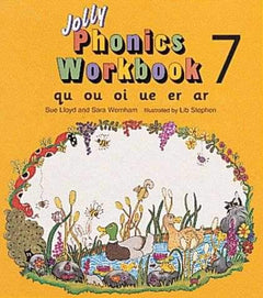 Jolly Phonics Workbook 7- 99bookscart-secondhand-bookstore-near-me