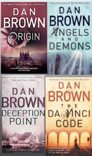 Origin, Angels and Demons, Deception Point, The Da Vinci Code (Dan Brown Special combo)