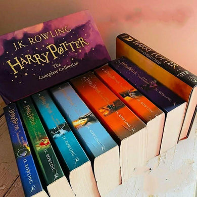 Harry Potter Complete Set (All 8 Books)