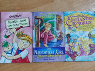 The Naughtiest Girl Saves the Day, Enchanted World Silky and the Rainbow Feather, Amelia Jane Gets into Trouble