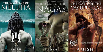 Shiva Trilogy: Combo of The Immortals of Meluha, The Secret of Nagas and The Oath of the Vayuputras
