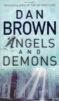 Angels and Demons (Robert Langdon, #1)- 99bookscart-secondhand-bookstore-near-me