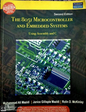 The 8081 Microcontroller and Embedded Systems