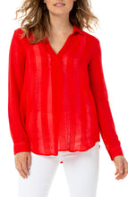 Load image into Gallery viewer, Pullover Tunic Red Ginger