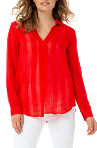 Pullover Tunic Red Ginger
