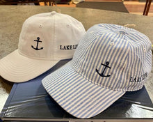 Load image into Gallery viewer, Lake Life Hat with Anchor