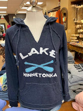 Load image into Gallery viewer, Lake Minnetonka Vneck Hoodie