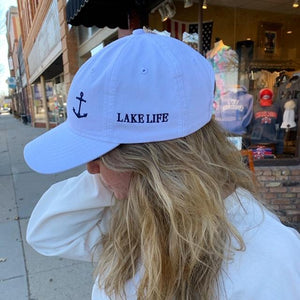 Lake Life Hat with Anchor