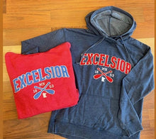 Load image into Gallery viewer, Excelsior Hooded Sweatshirt