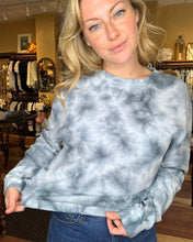 Load image into Gallery viewer, Tie Dye Cinch Waist Sweater
