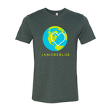 JAMORÉBLUE MEN EARTH Short Sleeve Jersey Tee