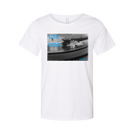 Jamoréblue Music Vintage  Raw Neck Tee