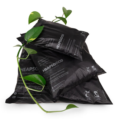 Sample pack eco mailer compostable plant based shipping mailer Australia compostable 4 sizes