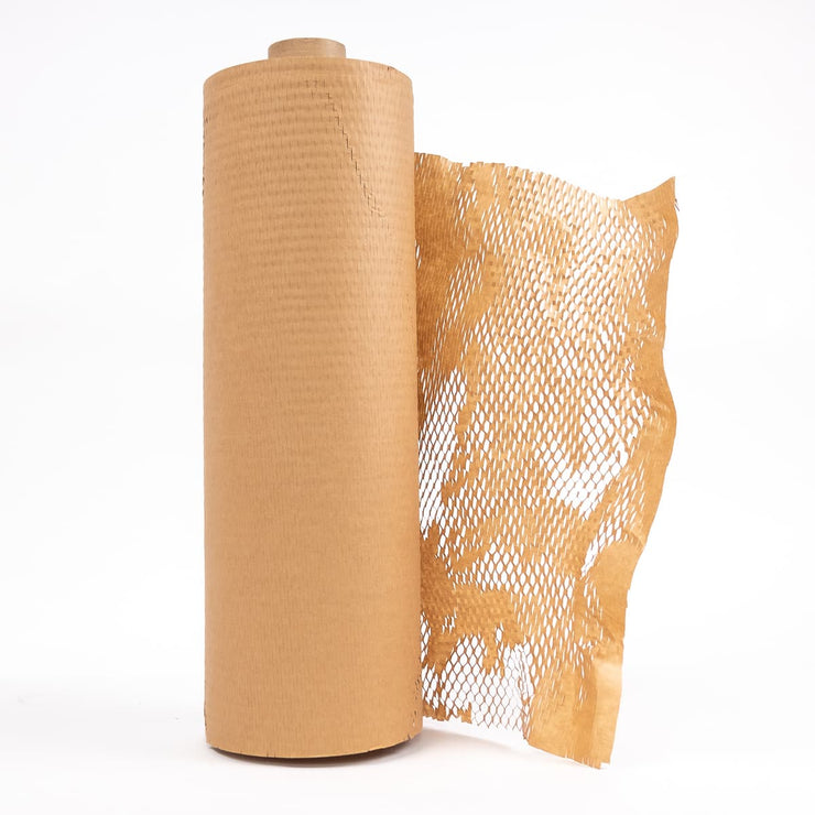 biodegradable hexwrap hexcel honeycomb HeapsGood Packaging Australia bubble wrap alternative no plastic compostable