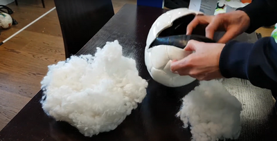 What's inside a futsal ball?