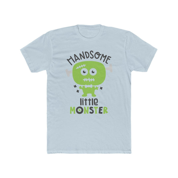 Handsome Little Monster Men's Cotton Crew Tee