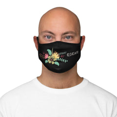 Floral Bouquets Flowers Fitted Polyester Face Mask