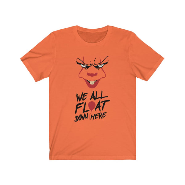 IT We All Float Down Here Unisex Jersey Short Sleeve Tee