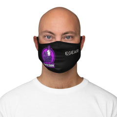 Agent Unicorn Fitted Polyester Face Mask