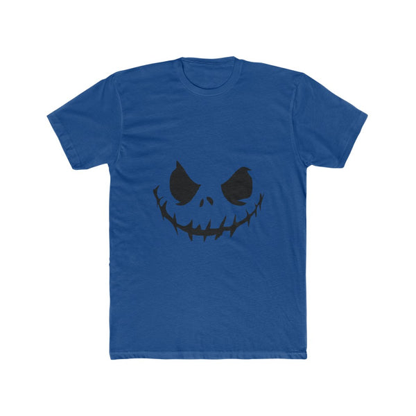 Nightmare Before Christmas Jack Face Men's Cotton Crew Tee