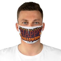 Trick Or Treat Happy Halloween Fabric Face Mask