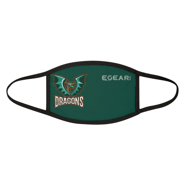 Mighty Dragons Mixed-Fabric Face Mask