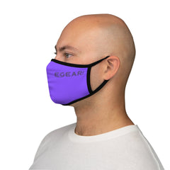 Game Day Fitted Polyester Face Mask