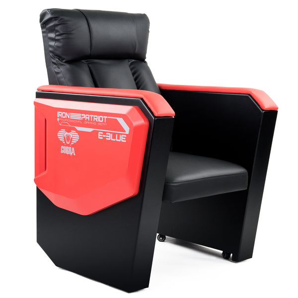 E-Blue Cobra Gaming EEC332BK sofa with Movable Scroll casters
