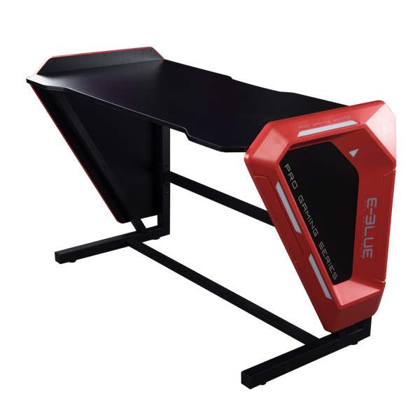 E-Blue Glowing EGT002BK Gaming desk (1.2m, Blue light)