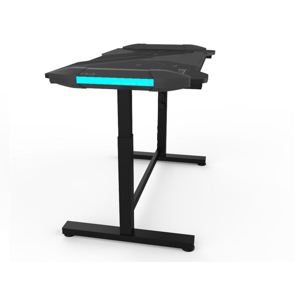 E-Blue Glowing EGT574BK Adjustable Gaming Desk 3.0
